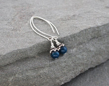 Load image into Gallery viewer, Apatite and Sterling Silver Earrings