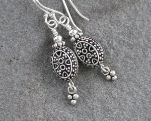 Turkish Oval Earrings