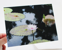 Load image into Gallery viewer, Water Lily Notecard - Single