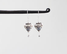 Load image into Gallery viewer, Thai Hill Tribe Silver Earrings