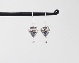 Thai Hill Tribe Silver Earrings