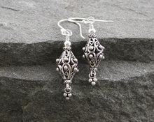 Load image into Gallery viewer, Turkish Sterling Silver Filigree Earrings