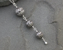 Load image into Gallery viewer, Turkish Filigree Trio Necklace