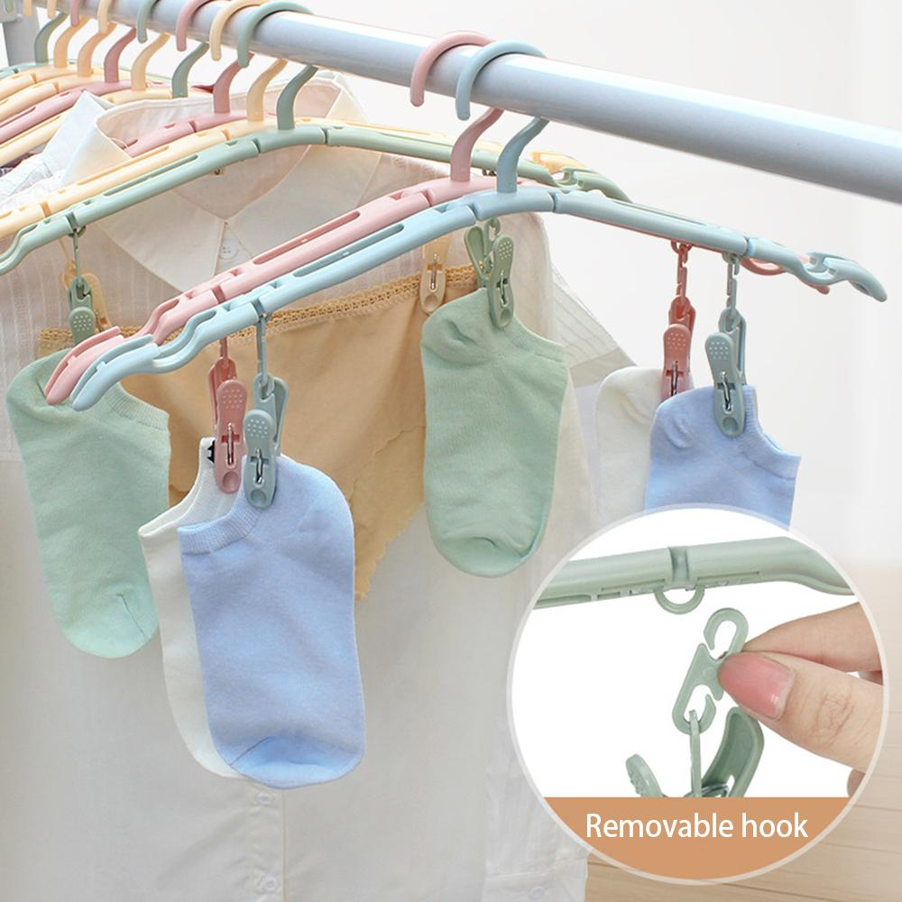 Hot Selling 50000+ Items——Travel clothes rack with clips,buy more save more