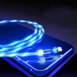 Cross-Device LED Charging Cable (3 in 1)