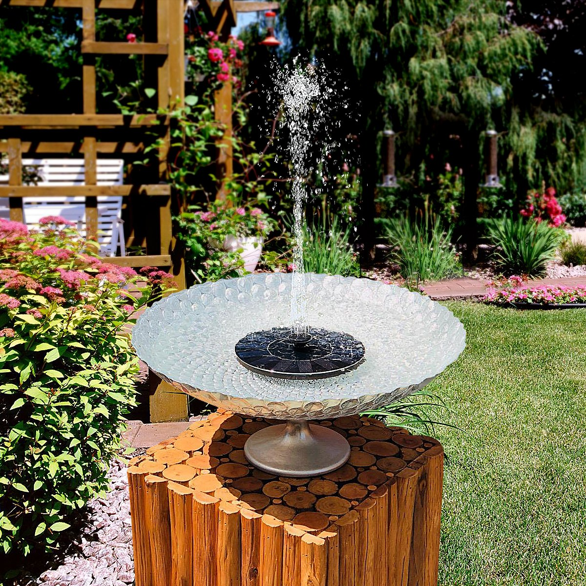 Limit discounts today——Solar Powered Fountain Pump