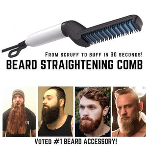STRAIGHTEN YOUR BEARD FOR MEN