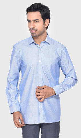 FORMAL HALF SLEEVE SLIM FIT LEMON MEN'S SHIRT