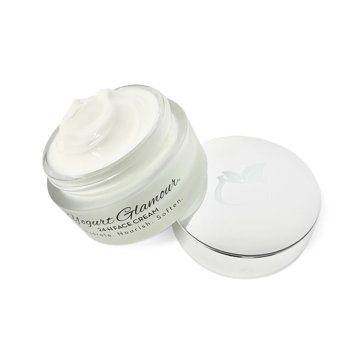 Yogurt Glamour 24H Moisturizing Yogurt Face Cream-Hydrate.Nourish.Soften(1.7 oz).-Yogurt Glamour Skincare-Yogurt Glamour Skin Care and Soaps