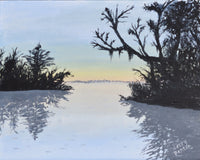 "Sampson Lake - 10"" x 8"""