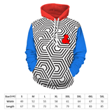 Customizable Hoodie Hooded White Printed Sweatshirt with Pockets
