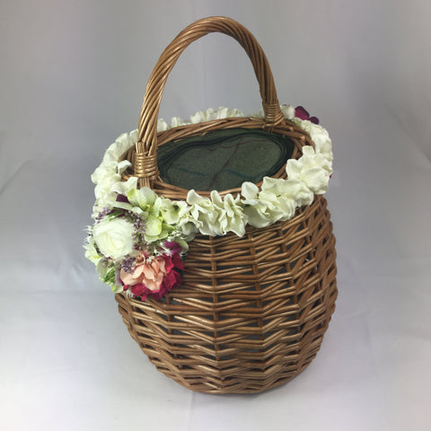 Classic Louise Basket - Handmade Vintage Inspired