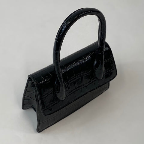 Classic May Purse in Black - Vintage Inspired