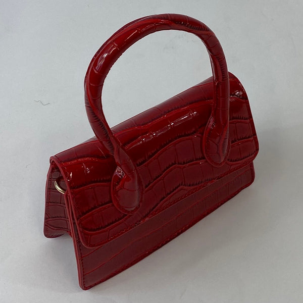Classic May Purse in Red - Vintage Inspired