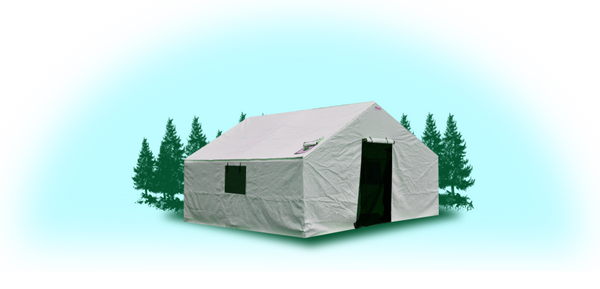 A-16'x20'x5'  Insulated Wall Tent Cover (No Frame)