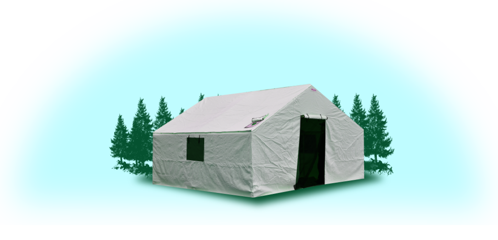 A-18'x24'x5'  Insulated Wall Tent Cover (No Frame)