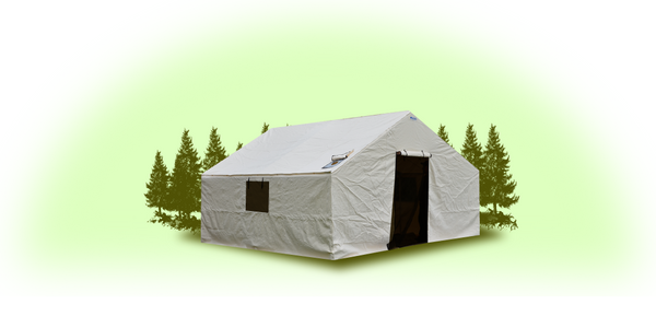 10'x12'x5' Wall Tent Cover (No Frame)