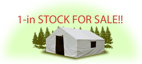 (01) in stock - ON SALE! 12'x14' Tent Package - Includes Frame -
