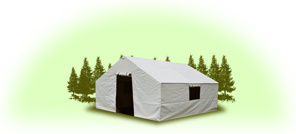 12'x14'x5' Wall Tent  Cover (No Frame)