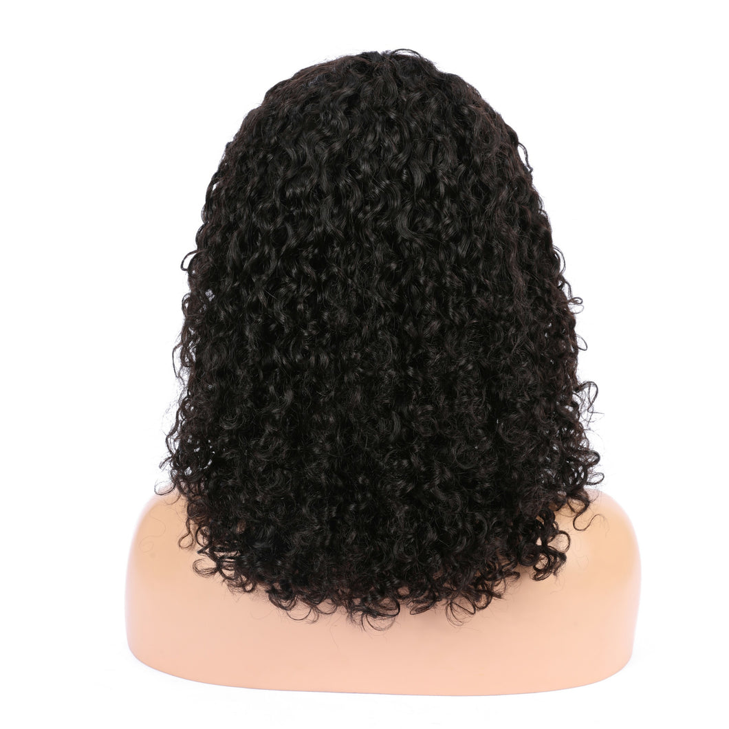 Curly wave 6 inch frontal lace wig - Vinuss fashion hair