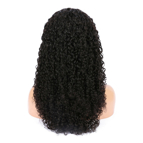 Jerry curly hairstyle 6 inch frontal lace wig - Vinuss fashion hair