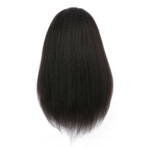 Kinky straight hairstyle lace wig - Vinuss fashion hair