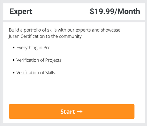 Expert Subscription