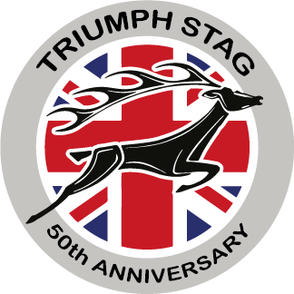 It's still the Triumph Stag 50th Anniversary