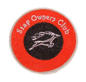 SOC Embroidered Badge
