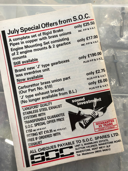 SOC Magazine - Issue 76. July 1986.
