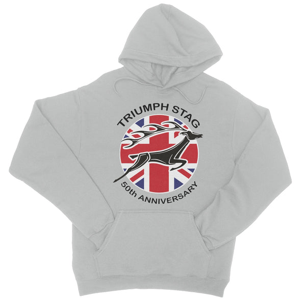 Stag 50th Anniversary College Hoodie