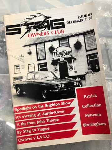 SOC Magazine - Issue 81. December 1986.