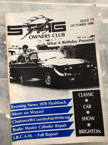 SOC Magazine - Issue 79. October 1986.