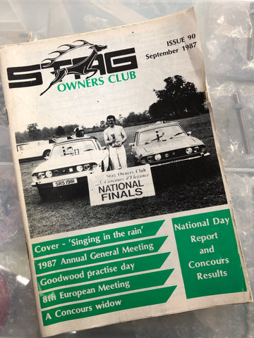 SOC Magazine - Issue 90. September 1987.