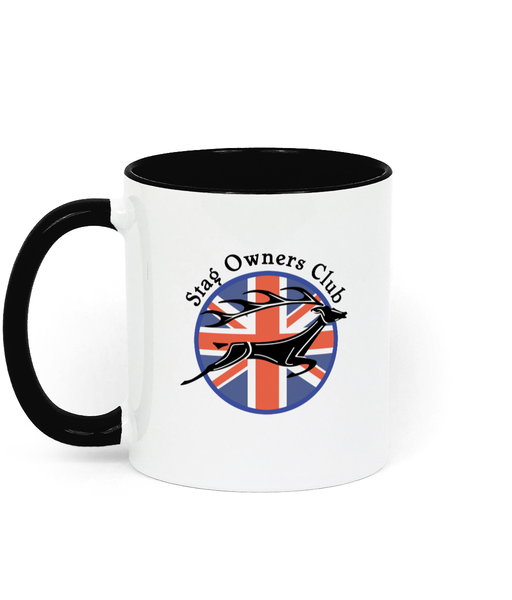 Two Toned Ceramic Mug with SOC Logo