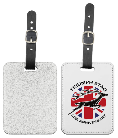 Stag 50th Anniversary Luggage Tag