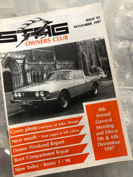 SOC Magazine - Issue 92. November 1987.