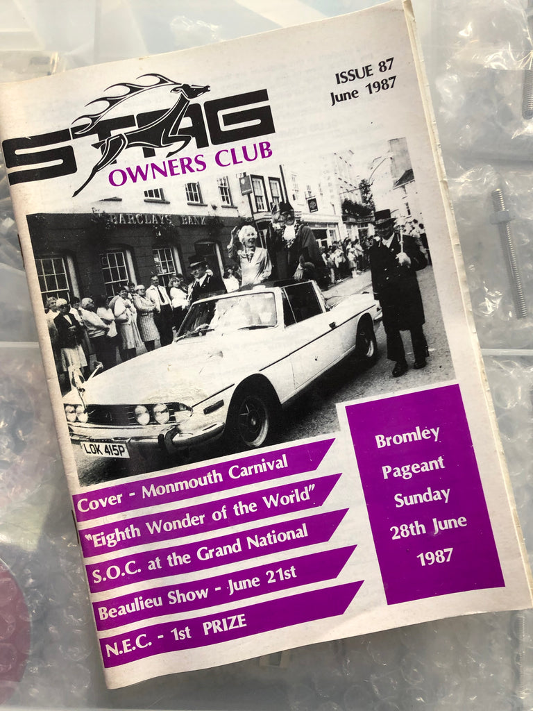 SOC Magazine - Issue 87. June 1987.