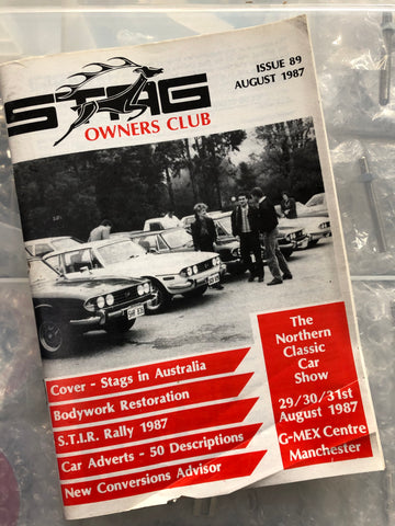 SOC Magazine - Issue 89. August 1987.