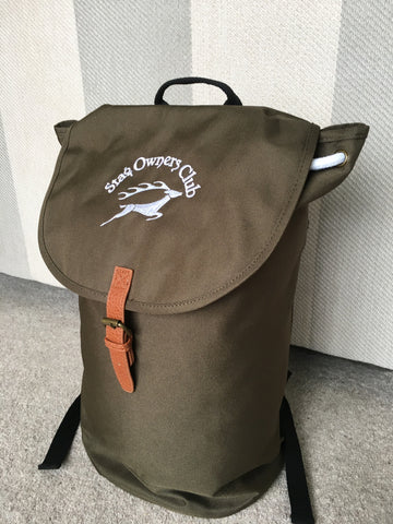 Duffle Bag featuring the SOC Logo