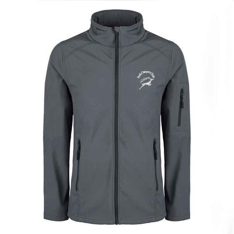 Mens Softshell Jacket with embroidered SOC Logo