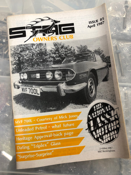 SOC Magazine - Issue 85. April 1987.