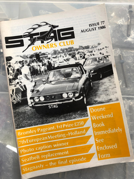 SOC Magazine - Issue 77. August 1986.
