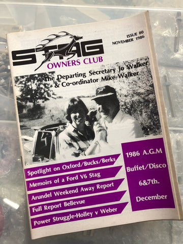 SOC Magazine - Issue 80. November 1986.