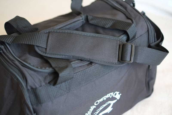 Black Holdall with SOC Logo