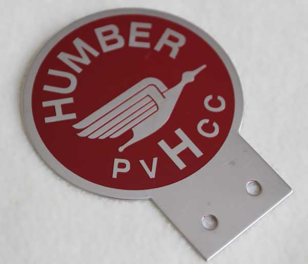 Humber Club Badge (Badge Bar)