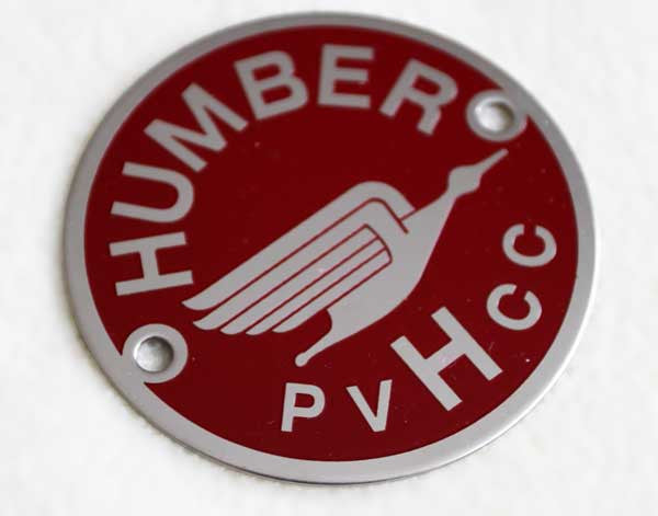 Humber Club Badge (Grille Mount)
