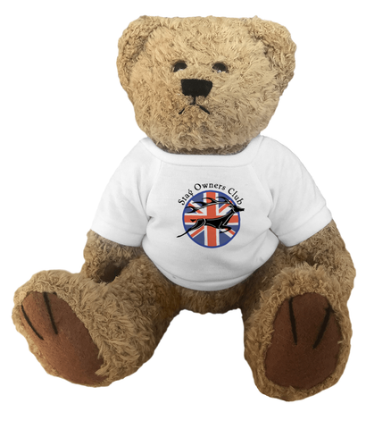 Teddy Bear Junior with SOC Logo