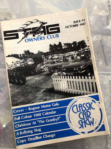 SOC Magazine - Issue 91. October 1987.