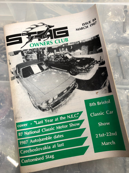 SOC Magazine - Issue 84. March 1987.